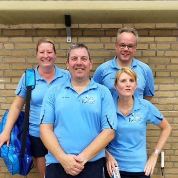 Wedstrijdverslag Badmintonvereniging Grol